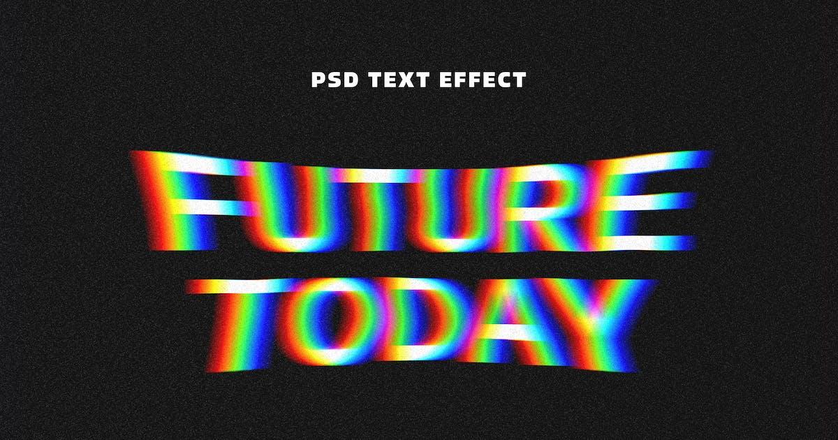 Download Acid Glitch Text Effect by pixelbuddha_graphic