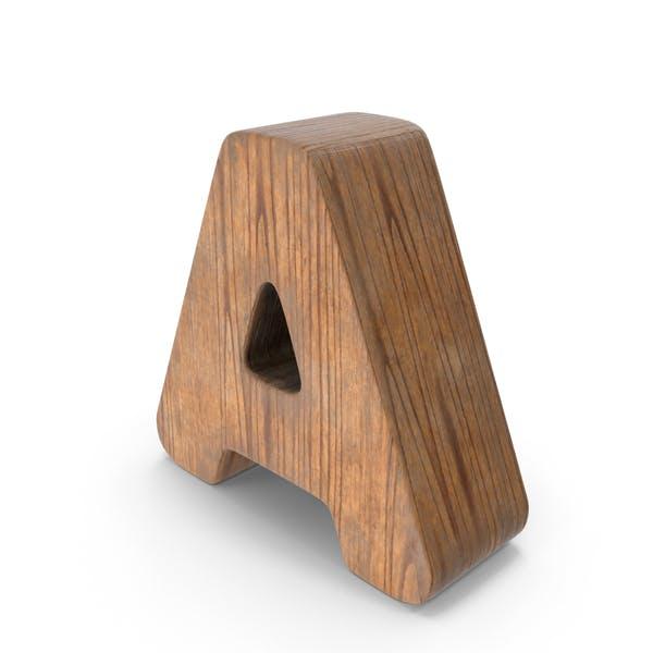 Деревянная буква