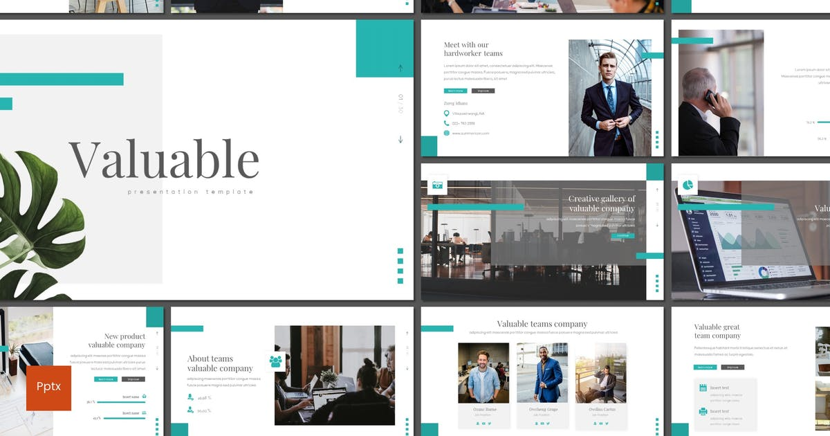 Download Valuable - Powerpoint Template by inspirasign