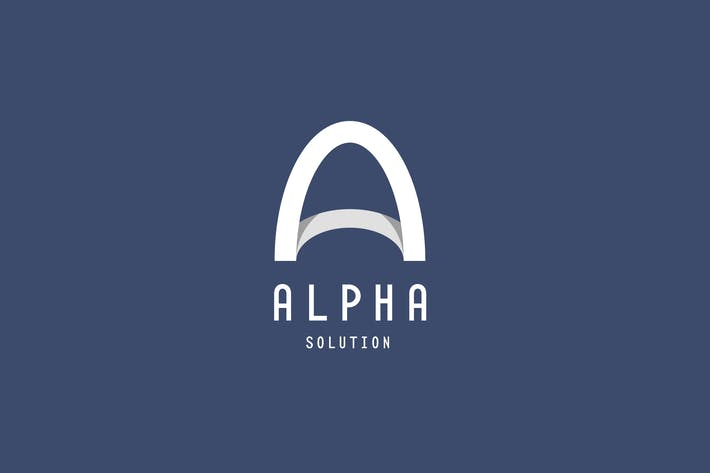 Thumbnail for Alpha Logo Template