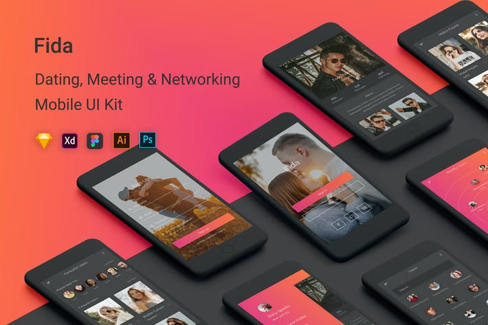 Thumbnail for Fida - Dating, Meeting & Networking App