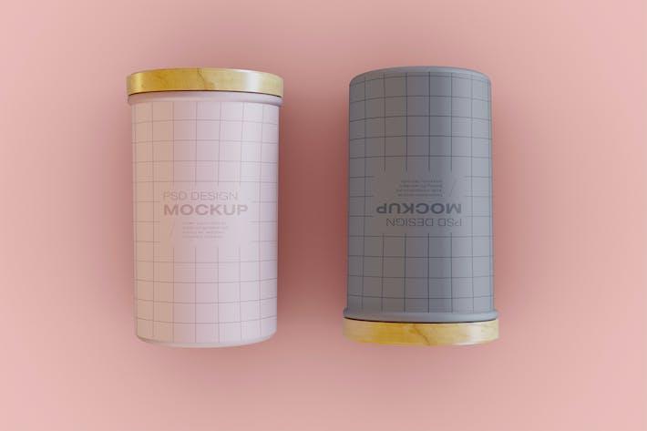 Dosen-Mockup