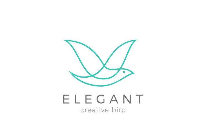 Thumbnail for Logo Flying Bird Elegant Cosmetics Fashion brand