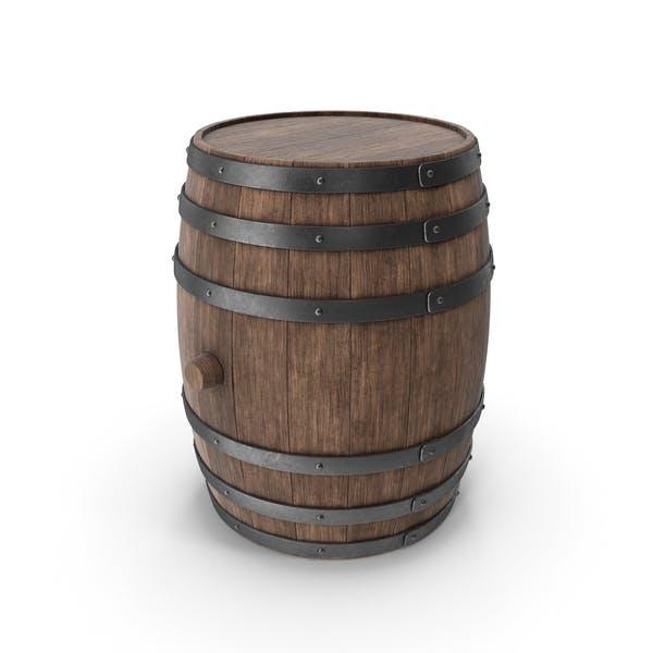 Деревянная бочка Орех