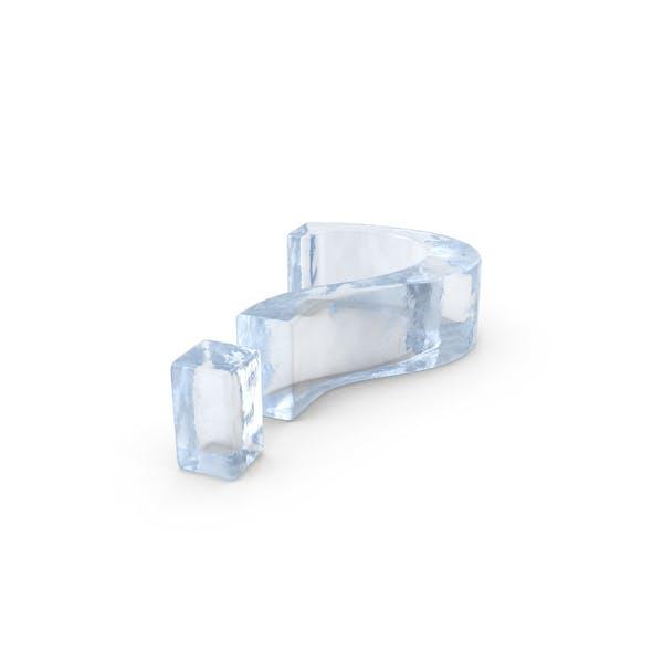 Ice Question Mark Symbol