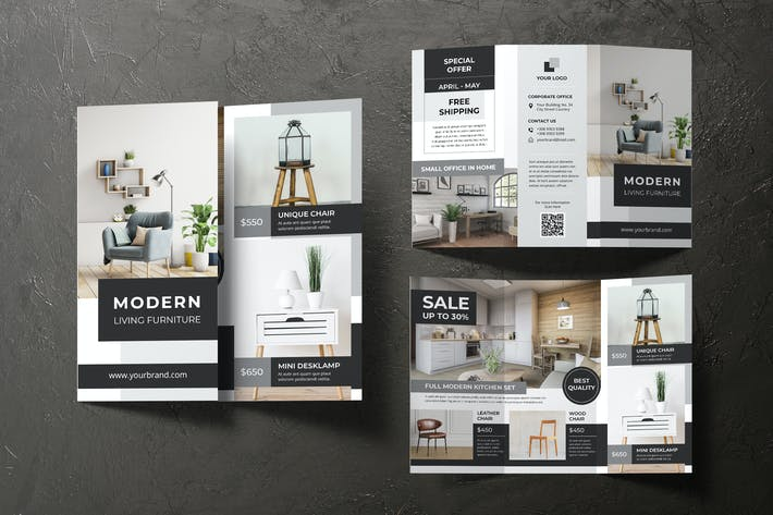 Cover Image For Interior Furniture Trifold