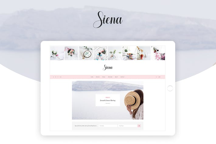 Thumbnail for Siena - Personal Blog PSD Template