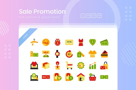 Sale Promotion Icon Pack