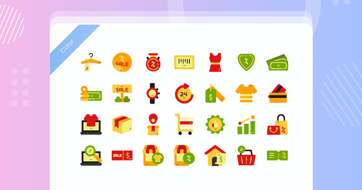 Download Sale Promotion Icon Pack by vectorclans