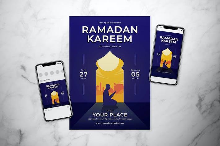 Thumbnail for Ramadan Flyer Set