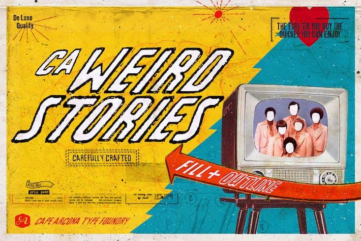 Thumbnail for Historias extrañas de CA