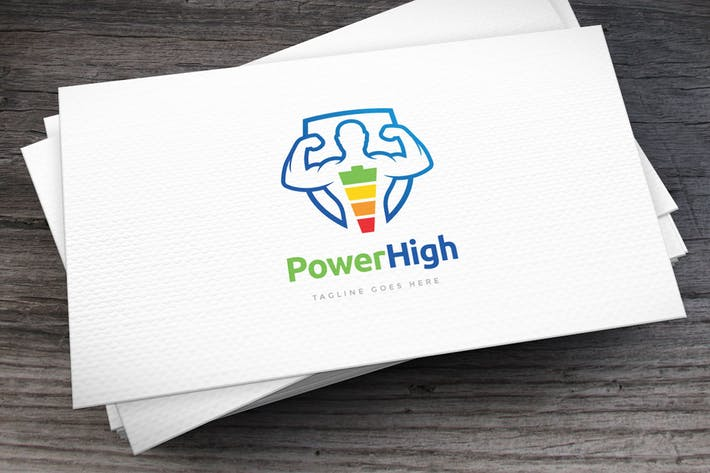 Thumbnail for Power High Logo Template