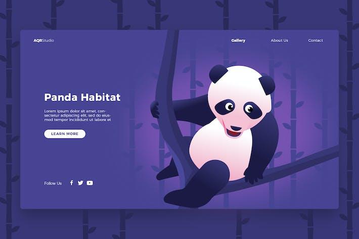 Thumbnail for Panda - Banner & Landing Page