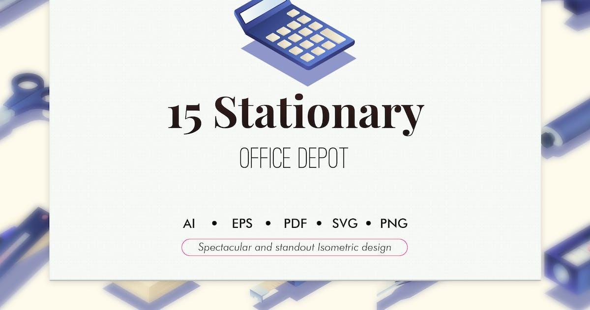 Download 15 Stationary isometric elements by Chanut_industries