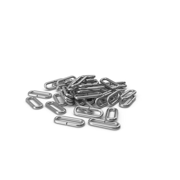 Pile Of Flail Chain Silver