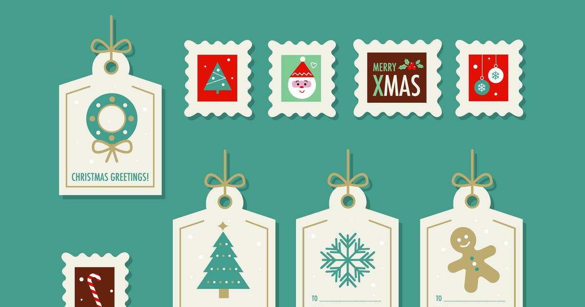 Download Christmas Stamps & Tags by Jumsoft