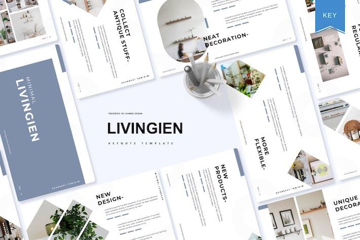 Thumbnail for Livingien | Keynote Template
