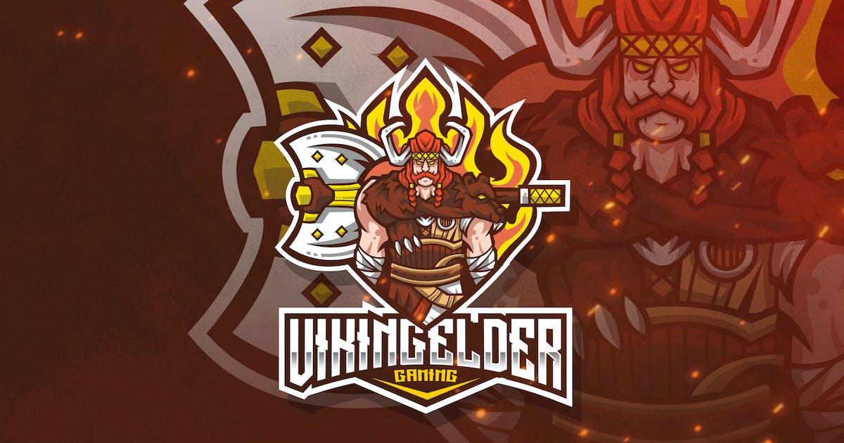 Download Viking Elder Esport Logo Template by StringLabs