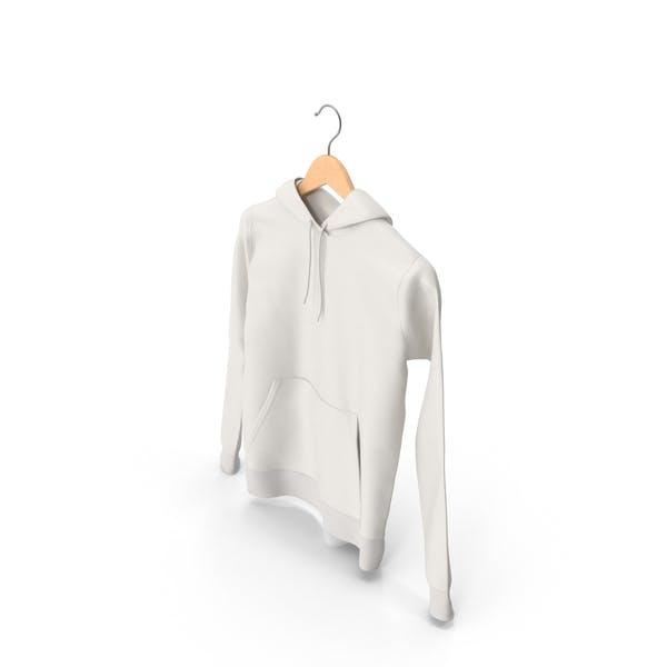 Male Standard Hoodie on Hanger