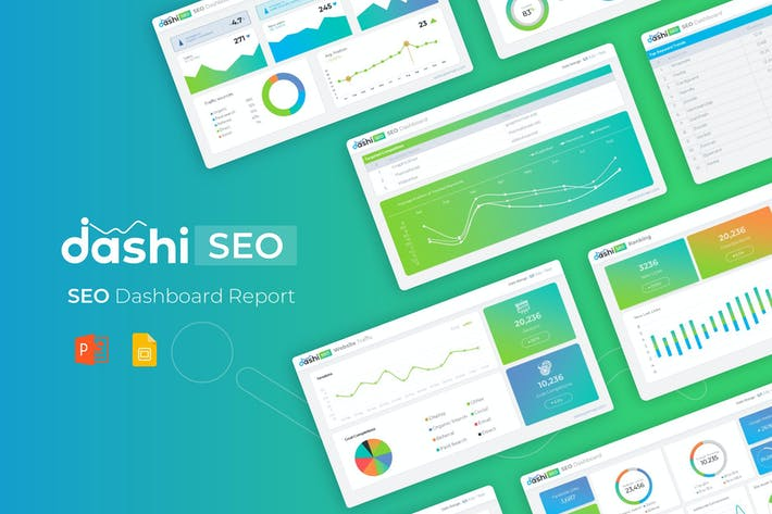 Thumbnail for Dashi SEO Report Template