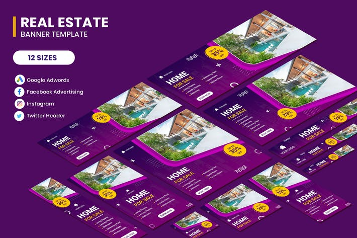 Thumbnail for Real Estate Google Adwords Template