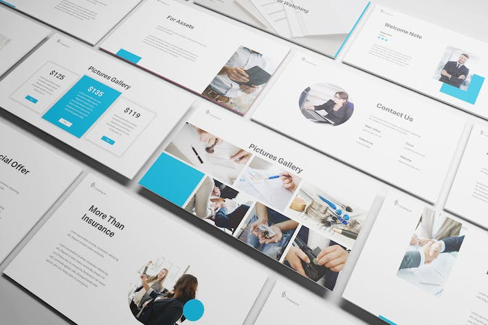 Thumbnail for Insurance Powerpoint Template