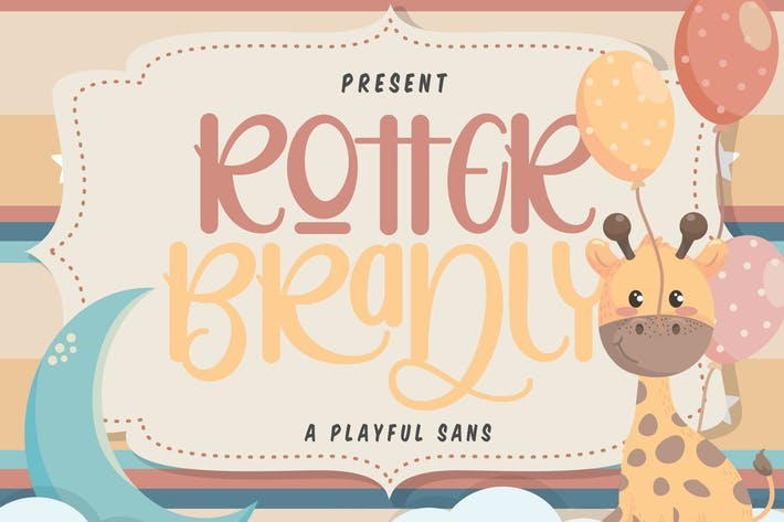 Cover Image For Rotter Bradly | A Playful Sans