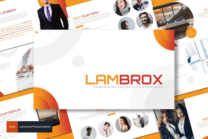 Thumbnail for Lambrox - Business Powerpoint Template