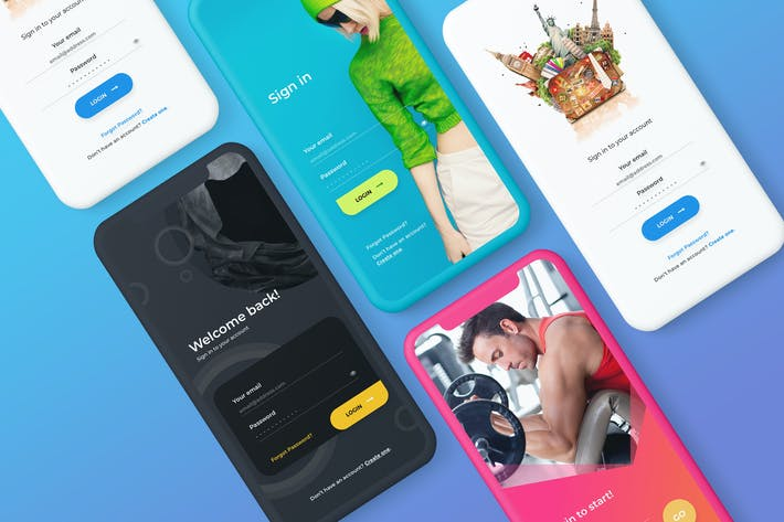 Thumbnail for Registration App Screens