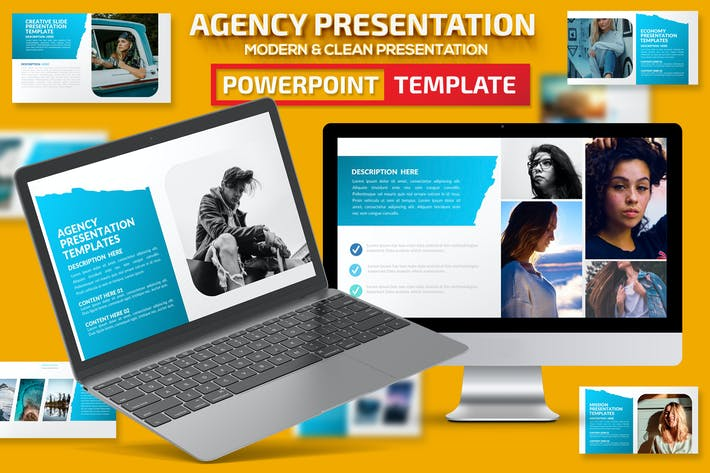 Thumbnail for Agency Powerpoint Presentation