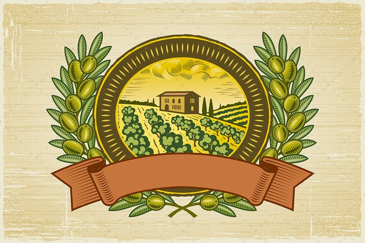 Thumbnail for Olive Harvest Label