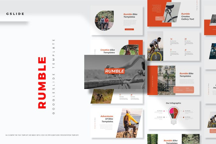 Cover Image For Rumble - Google Slides Template