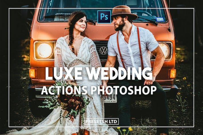 Luxe Weddings Photoshop Actions