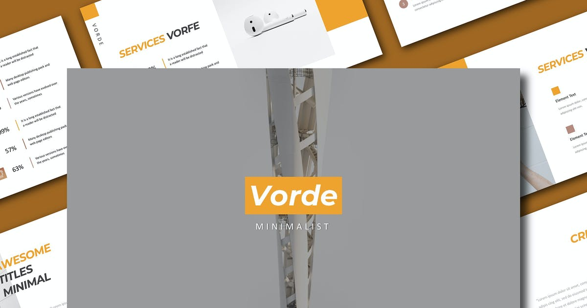Download Vorde Powerpoint by Siwox