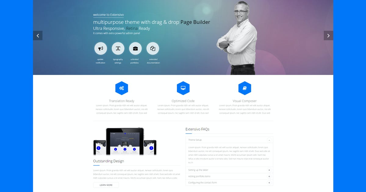Download Orbit7 - Creative Multipurpose HTML5 Template by PremiumLayers