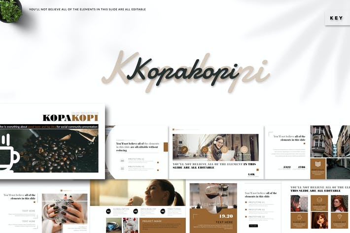 Kopakopi - Keynote Template