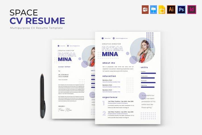 Space | CV & Resume