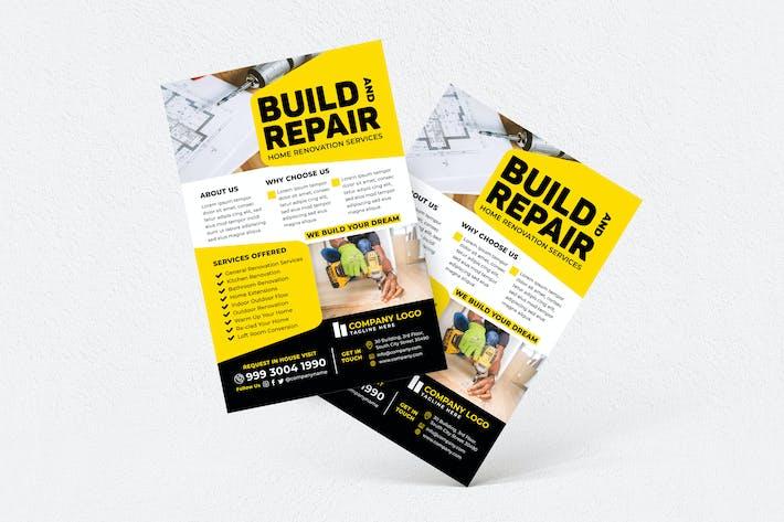 Thumbnail for Build & Repair Home Flyer