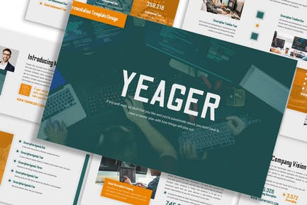 Yeager - Business Template Prensentation