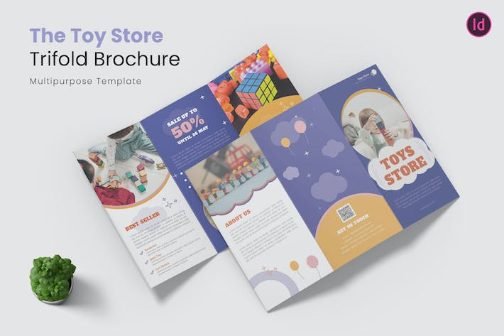 Thumbnail for Toys Store Trifold Brochure
