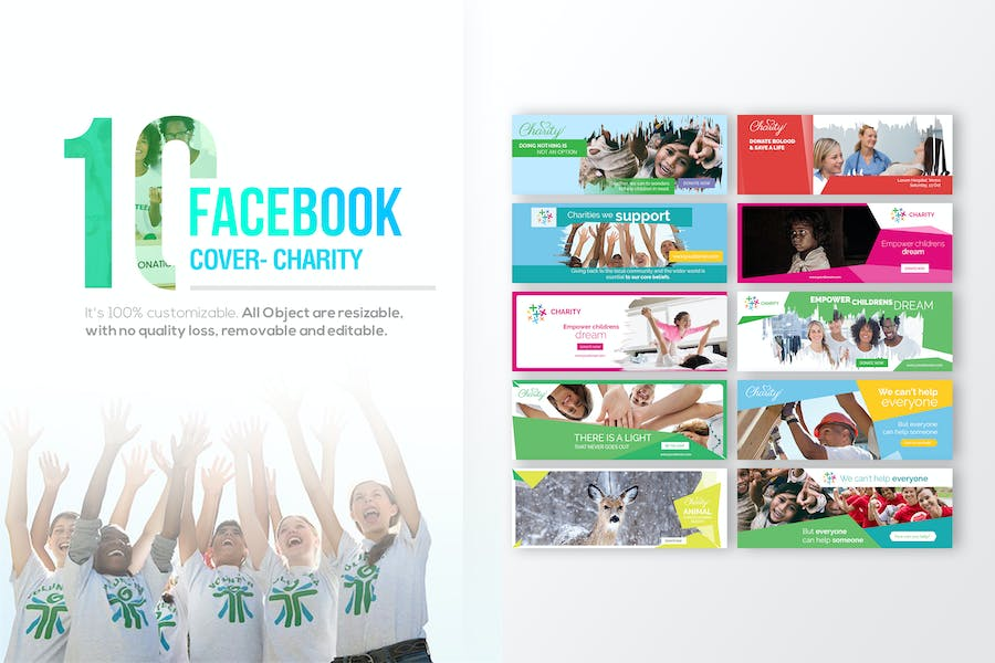 10 Facebook Cover - Charity