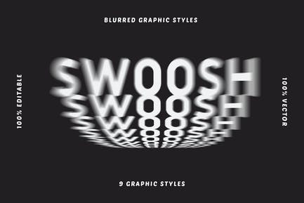 Blurred Graphic Styles