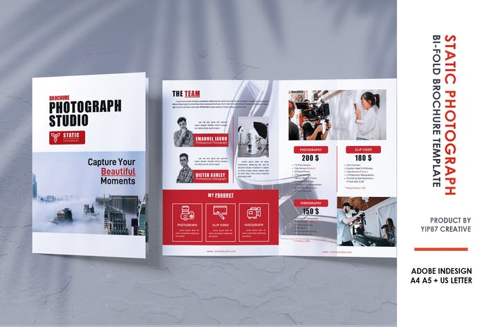 Photography Studio Bifold Brochure