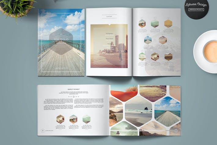 Cover Image For Multipurpose Clean Brochure / Catalog