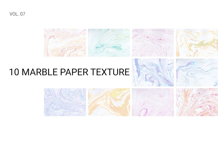 Thumbnail for Marble Paper Texture Vol. 07