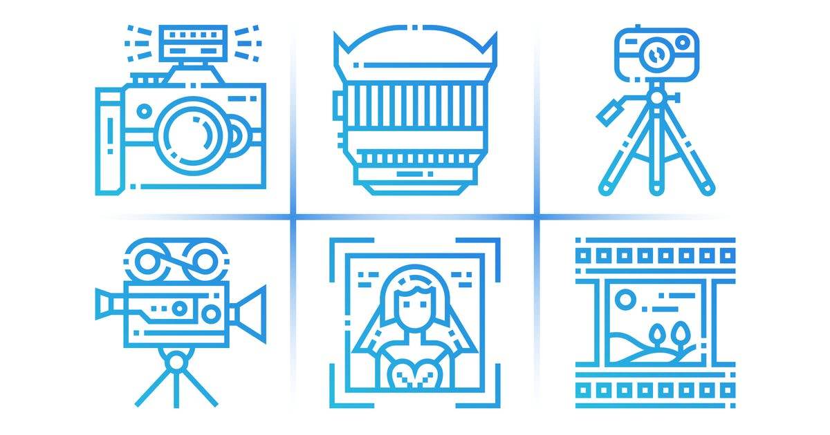 Download 40 Photography Icons by 3ab2ou