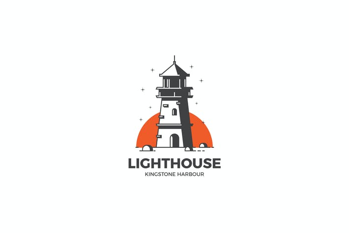 Thumbnail for Lighthouse Logo Template