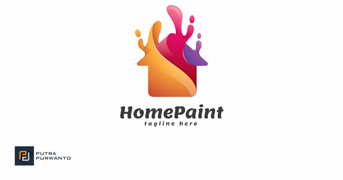 Download Home Paint - Logo Template by putra_purwanto
