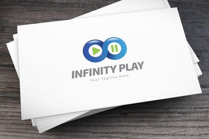 Thumbnail for Infinity Play Logo Template