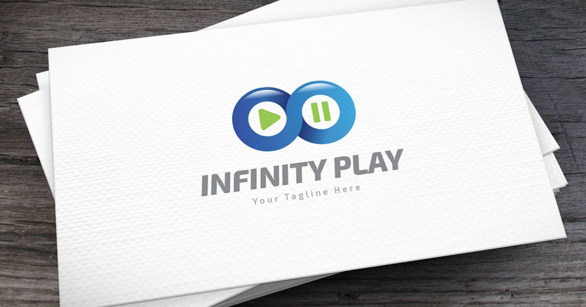 Download Infinity Play Logo Template by empativo